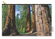 Bachelor And Three Graces In Mariposa Grove In Yosemite National Park-california Carry-all Pouch