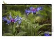 Bachelor Buttons - Flowers Carry-all Pouch