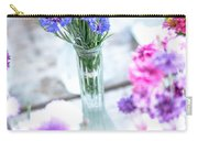 Bachelor Flowers Carry-all Pouch