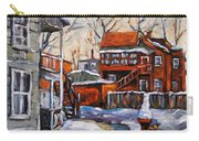Back Lanes 02 Montreal By Prankearts Carry-all Pouch