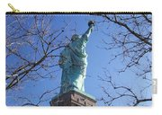 Back Of Liberty Carry-all Pouch