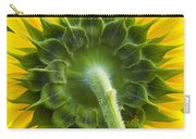 Back Of Sunflower Carry-all Pouch