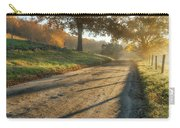 Back Road Morning Carry-all Pouch by Bill Wakeley