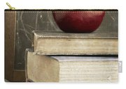 Back To School Apple For Teacher Carry-all Pouch
