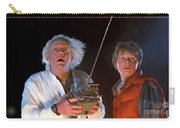 Back To The Future Carry-all Pouch by Paul Tagliamonte