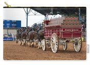 Back View Anheuser Busch Clydesdales Pulling A Beer Wagon Usa Carry-all Pouch