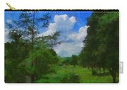 Back Yard View Carry-all Pouch by Jeff Kolker