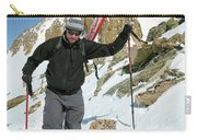 Backcountry Skiing, Citadel Peak, Co Carry-all Pouch