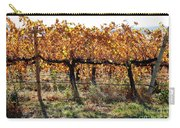 Backlit Autumn Vineyard Carry-all Pouch