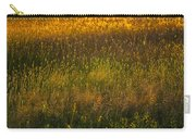 Backlit Meadow Grasses Carry-all Pouch