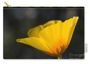 Backlit Poppy Carry-all Pouch