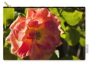 Backlit  Rose Carry-all Pouch
