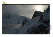 Backlit Skilift In Beautiful Landscape Carry-all Pouch