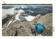 Backpacker Descending Needle Peak Carry-all Pouch