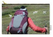 Backpacker Watches Dall Sheep Carry-all Pouch