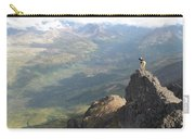 Backpackers Hike In Chugach State Park Carry-all Pouch