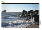 Backwash On Sunset Beach Cape May Carry-all Pouch