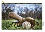 Backyard Baseball Memories Carry-all Pouch