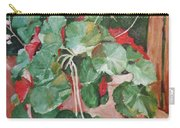 Backyard Begonia Carry-all Pouch