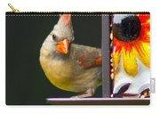 Backyard Female Cardinal Carry-all Pouch