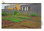 Backyard Garden In Louisbourg Living History Museum-1744-ns Carry-all Pouch