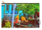 Backyard In Bright Colors Carry-all Pouch