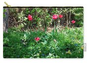 Backyard Tulips Carry-all Pouch