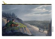 Badger Catching, 1820 Carry-all Pouch