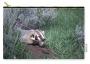 Badger In Yellowstone Carry-all Pouch