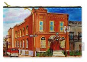 Bagg And Clark Street Synagogue Carry-all Pouch