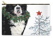 Bah Humb Merry Christmas Carry-all Pouch by Liane Weyers