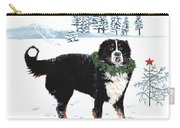 Bah Humbug Merry Christmas Large Carry-all Pouch