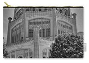 Bahai Temple Wilmette In Black And White Carry-all Pouch