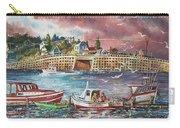 Bailey Island Cribstone Bridge Carry-all Pouch by Joy Nichols