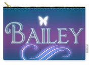Bailey Name Art Carry-all Pouch