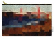 Baker Beach Carry-all Pouch by Linda Woods