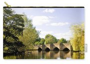 Bakewell Bridge - Over The River Wye Carry-all Pouch