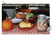 Baking A Squash And Pumpkin Pie Carry-all Pouch by Susan Savad