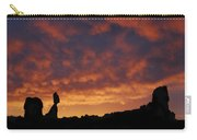 Balanced Rock Al Silhouette  Carry-all Pouch