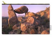 Balanced Rock In The Grapevine Carry-all Pouch