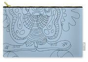 Balancing Clown - Doodle Carry-all Pouch