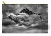 Balck And White Tantalus Peaks Carry-all Pouch