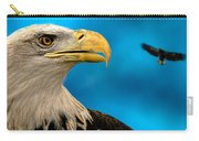 Bald Eagle And Fledgling  Carry-all Pouch