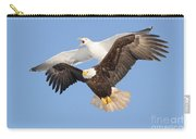 Bald Eagle And Greater Black-backed Gull Carry-all Pouch