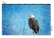 Bald Eagle Blues Carry-all Pouch