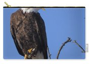 Bald Eagle Calling Carry-all Pouch