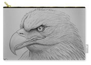Bald Eagle Drawing Carry-all Pouch