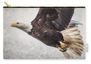 Bald Eagle Fly By Carry-all Pouch