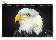 Bald Eagle Hailaeetus Leucocephalus Wildlife Rescue Carry-all Pouch