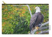 Bald Eagle In Fall Colors Animals Carry-all Pouch